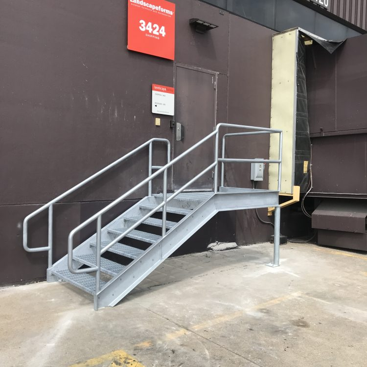 Midlink loading dock stair 2